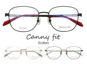 韓国風伊達メガネ CannyFit CA-003