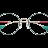 白澤モデル 眼鏡 正面
